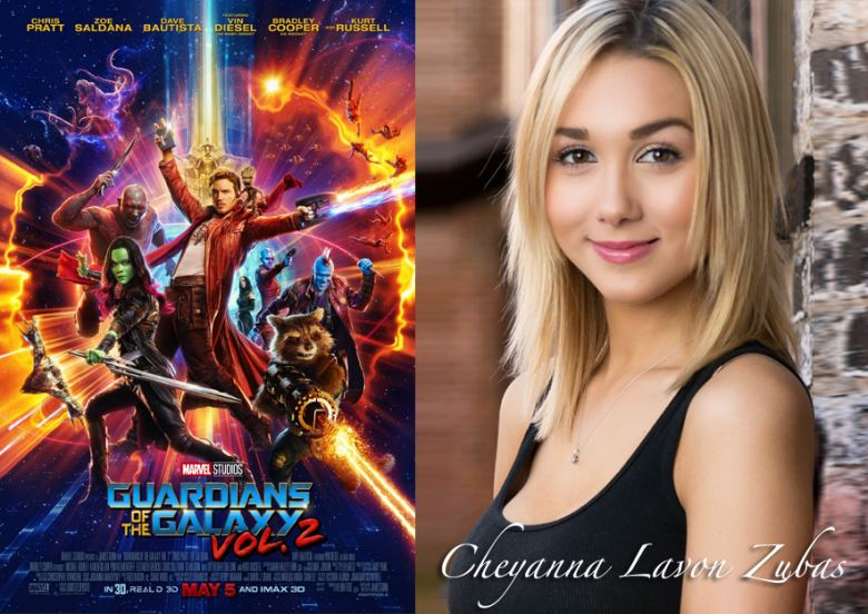 Guardians Of The Galaxy Vol.2 Feat. Cheyanna Lavon Zubas