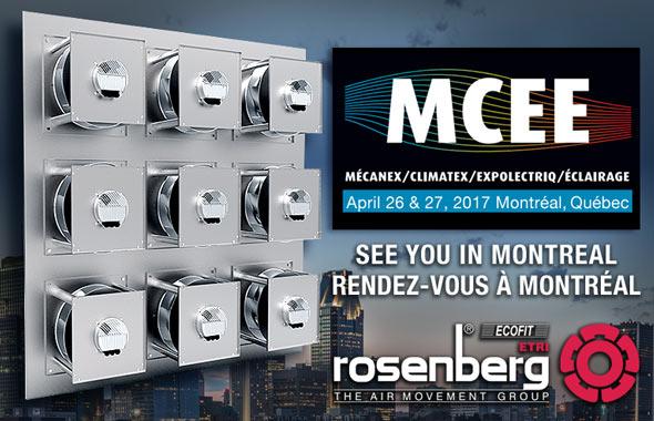Rosenberg Canada at MCEE-2017