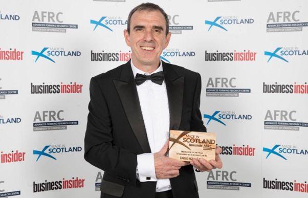 Made in Scotland award_Ian Fotheringham