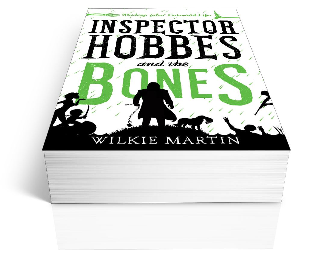 Inspector Hobbes and the Bones (Unhuman IV) by Wilkie Martin