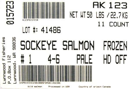 label Salmon