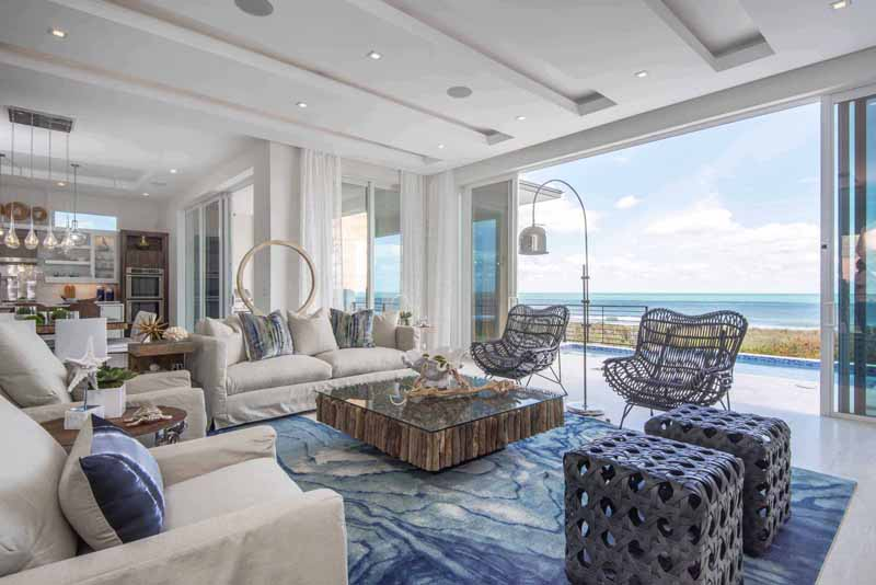 The Model Homes Capitalize On Panoramic Vistas Of Atlantic Ocean
