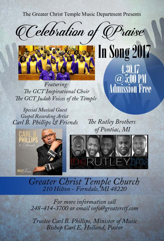 Celebration of Praise In Song 2017