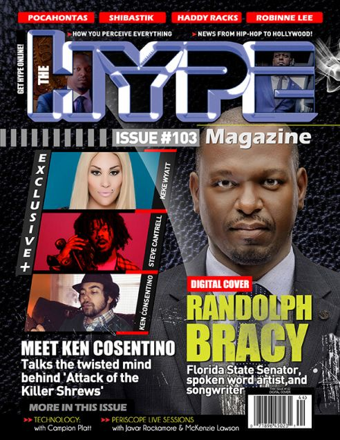 Senator Randolph Bracy covers April digital issue of The Hype Magazine