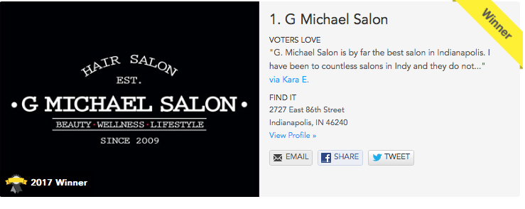 Best Broad Ripple Hair Salons - G Michael Salon
