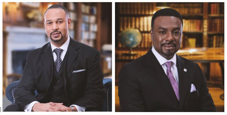 Attorneys Carlos Moore and Charles Tucker