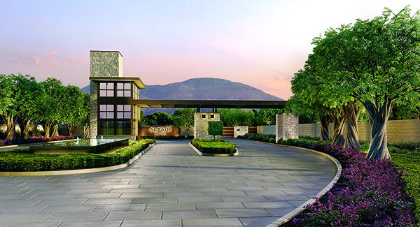 The Altair Irvine luxury master plan will feature a guard-gated entryway.