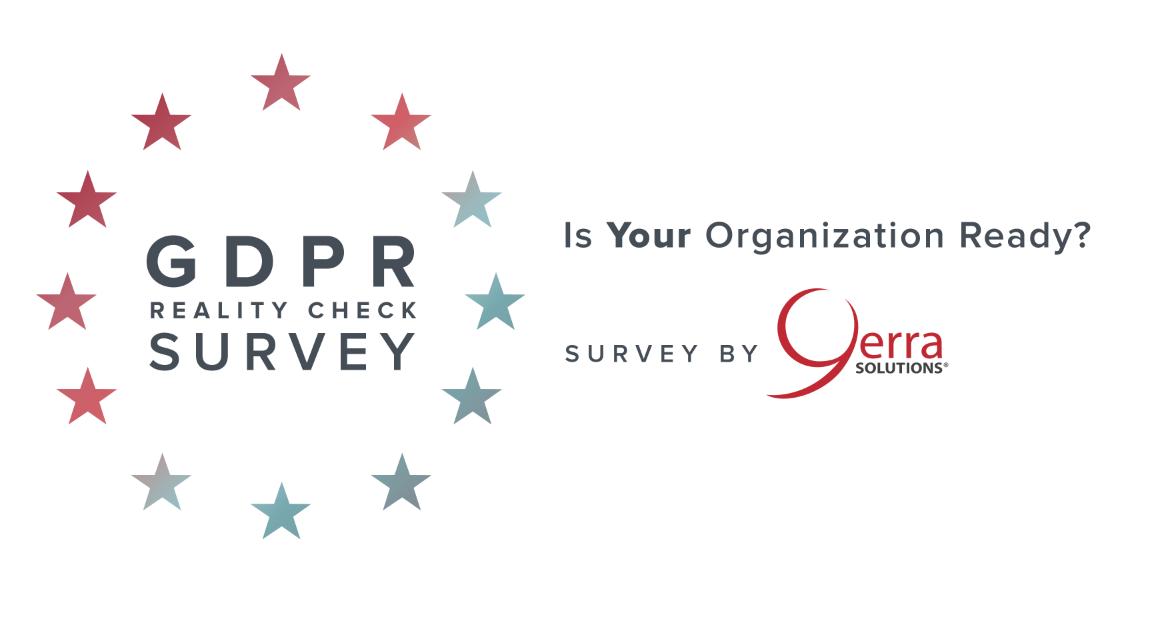 Do you know where you stand on GDPR preparedness? Take the survey!