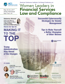 3rd Annual Women Leaders in Financial Services Law and Compliance