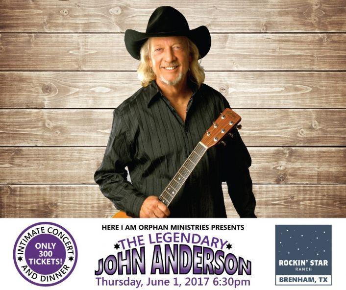 John Anderson Orphan Ministries Benefit Concert