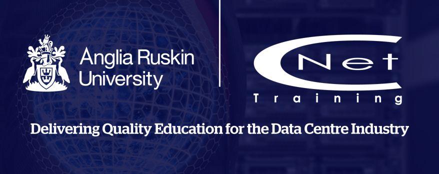 CNet Training and Anglia Ruskin University Logo