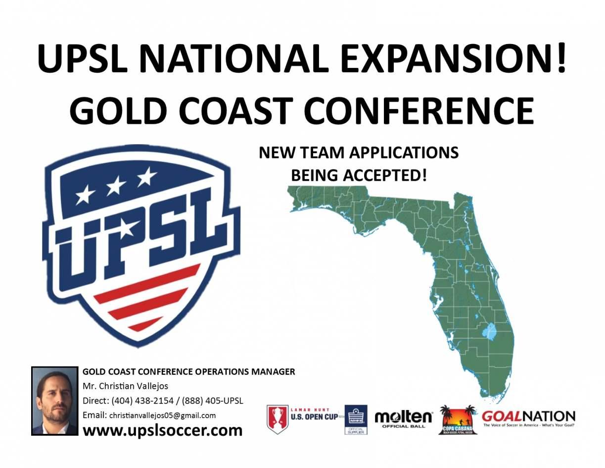 UPSL_GoldCoastExpansion