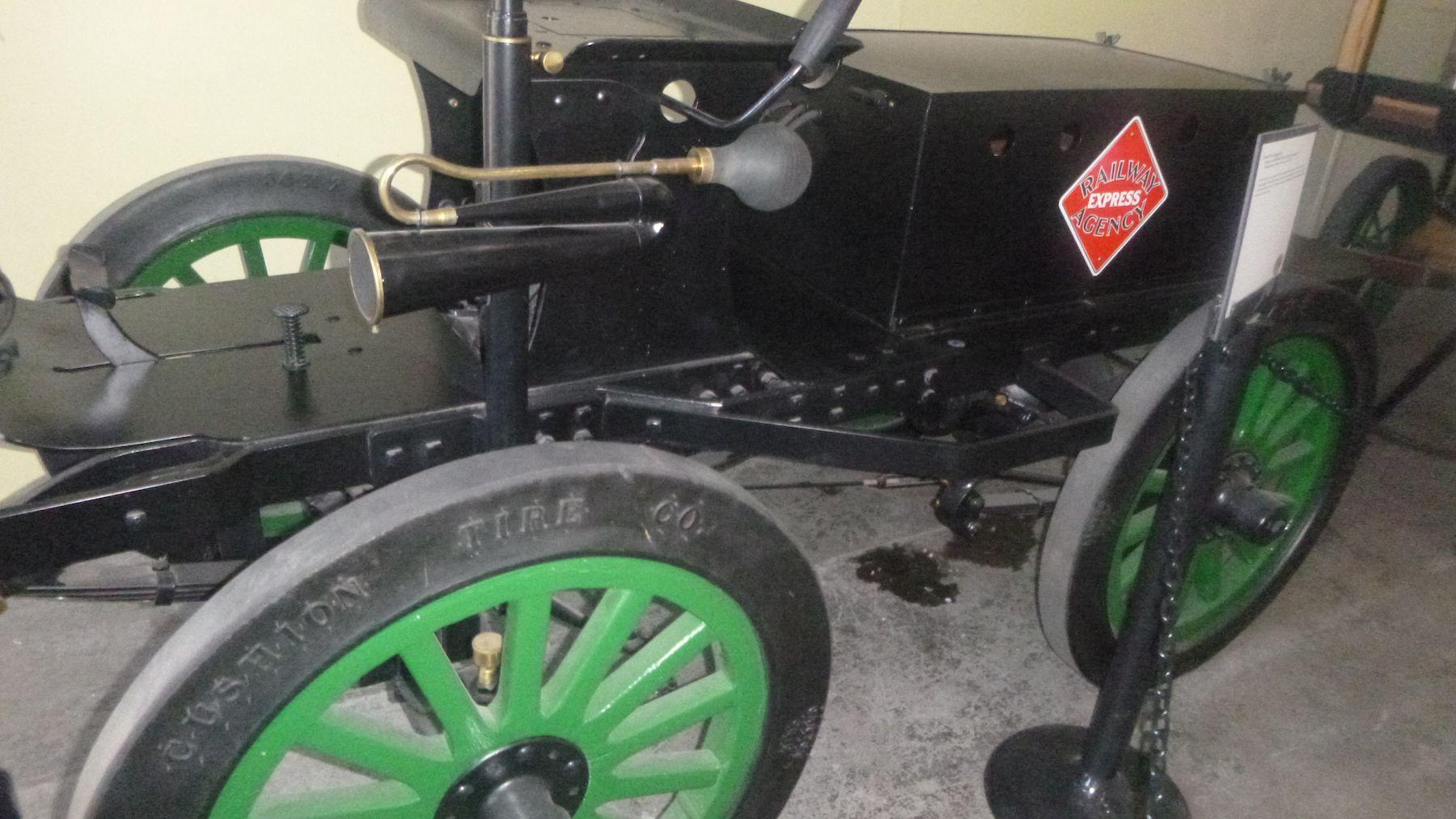 Vintage Electric Car