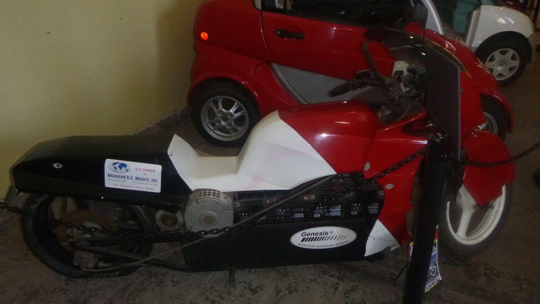 Vintage Electric Motorcycle