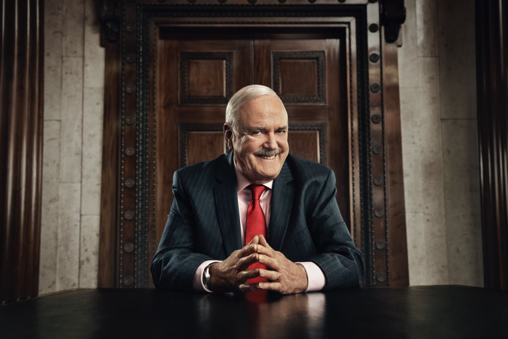 John Cleese in We Fight Any Claim's TV ads