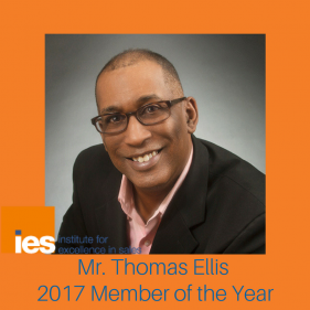 Mr. Thomas Ellis, 2017 Member of the Year