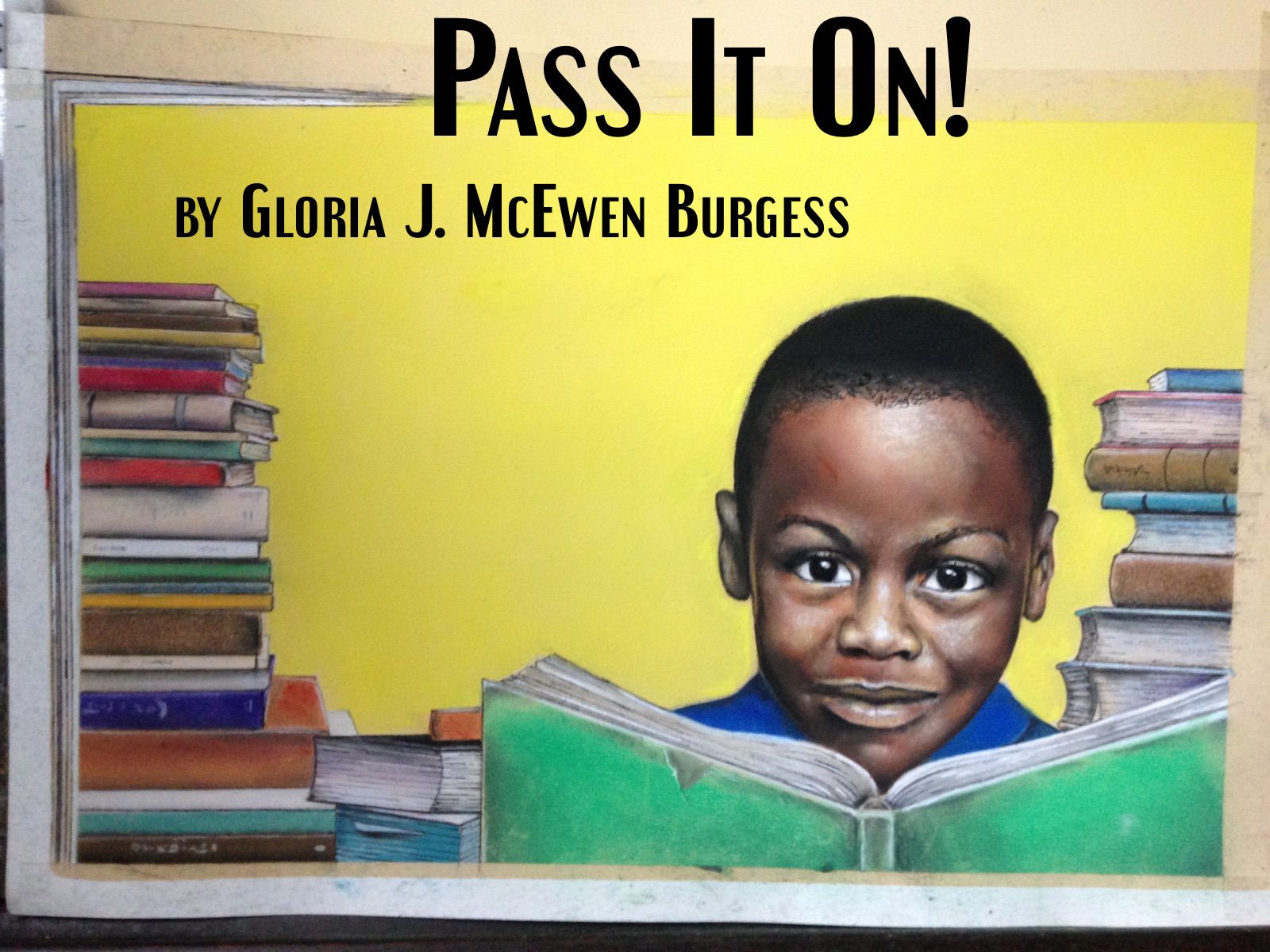 PASS IT ON! to be published by Two Sylvias Press