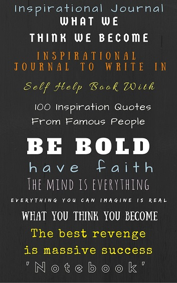 self help book with 100 inspiration quotes from famous