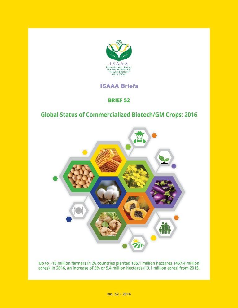 ISAAA Briefs No. 52 - 2016