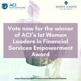 Women Leaders in Financial Services Empowerment Award