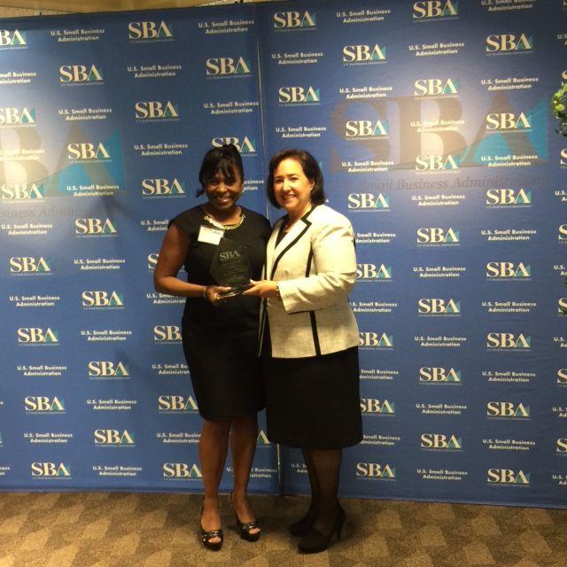 Vanessa Best with Beth Goldberg NY District Director SBA