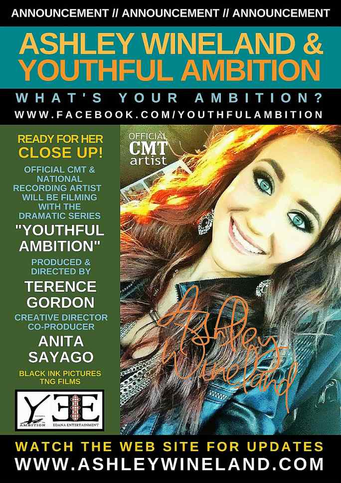 Ashley Wineland and Youthful Ambition