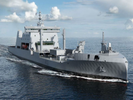 New Zealand Defence Force's new fleet tanker
