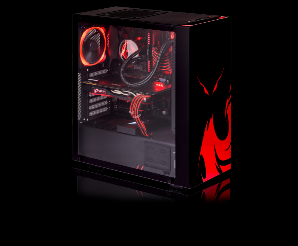 Custom PC Dragon Flair