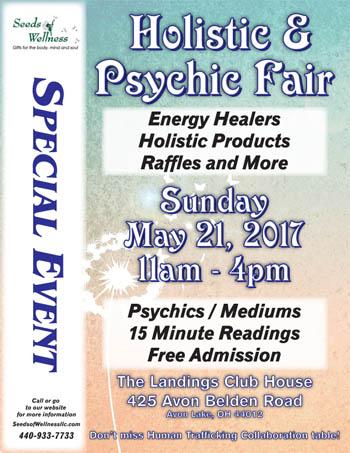 Holistic & Psychic Fair in Avon Lake, OH