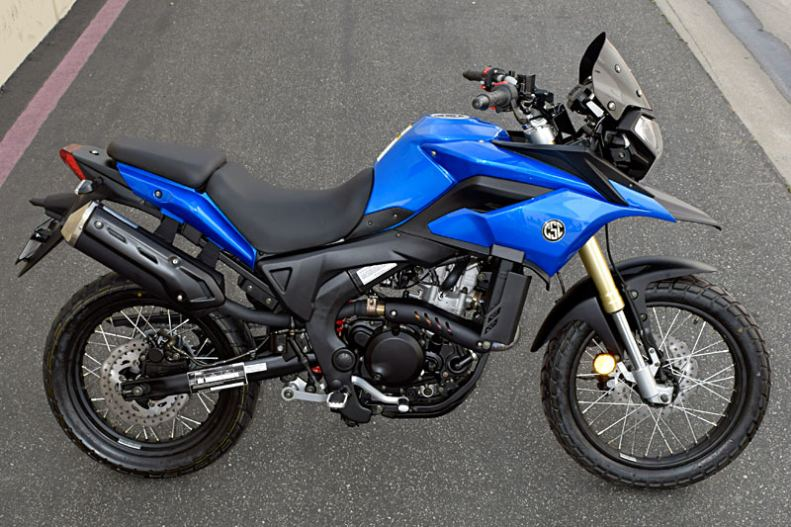 The New CSC RXR Motorcycle
