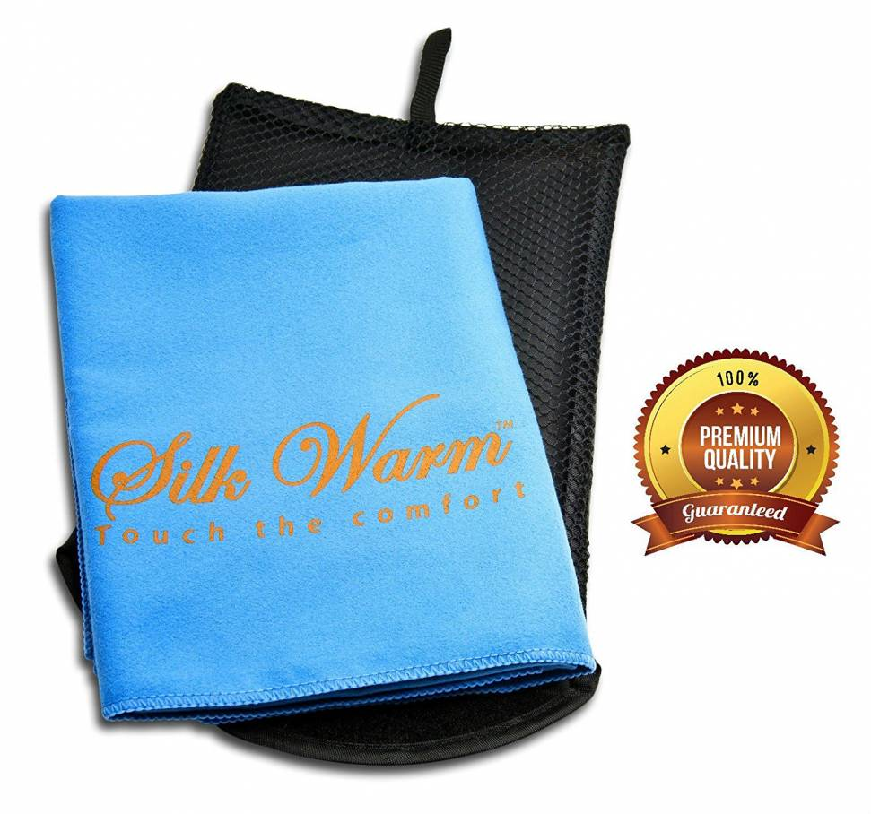 Get your Silk Warm Microfiber Towel at a 40% discount today!