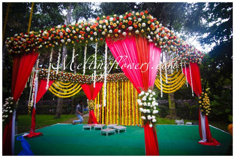 Things You Can Use For Mandap Decoration At Your Wedding Melting