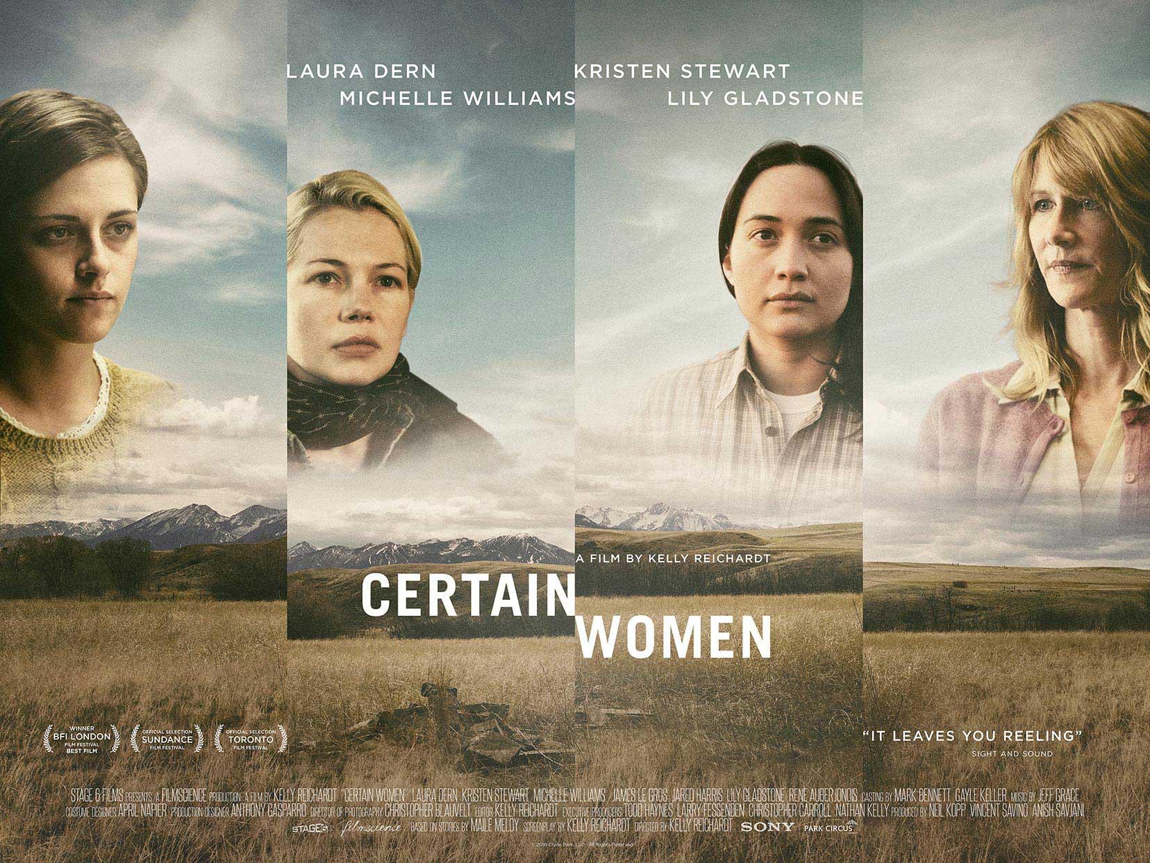 Certain Women 2017 Art of Brooklyn Film Fest