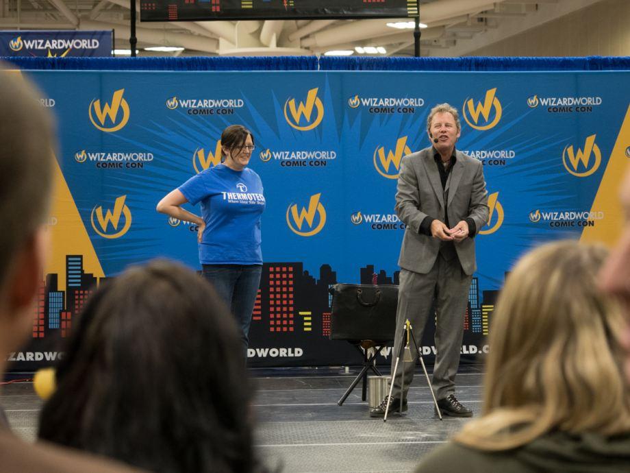 Wizard World Comic Con entertainment stage