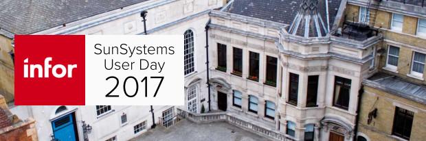 Infor SunSystems User Day 2017