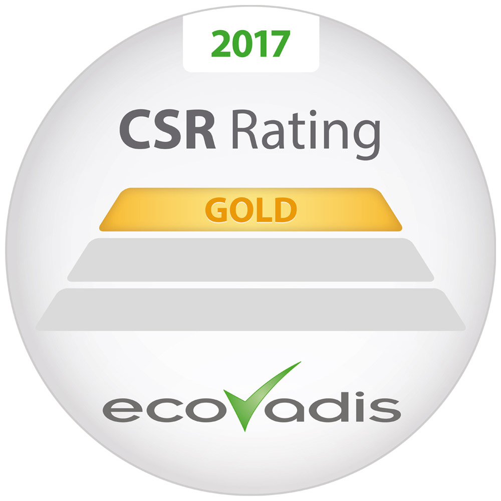 JPG Diamond Packaging awarded Gold in EcoVadis Assessment
