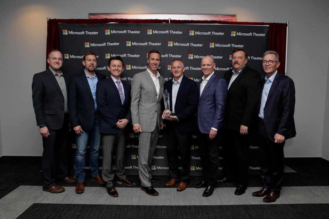 Marriott's Horizon Award presented to Midas Hospitality