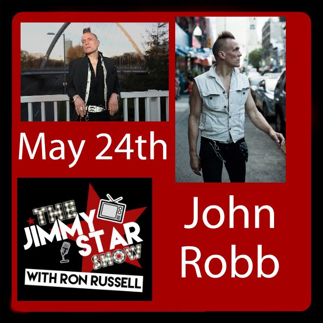 John Robb On The Jimmy Star Show With Ron Russell