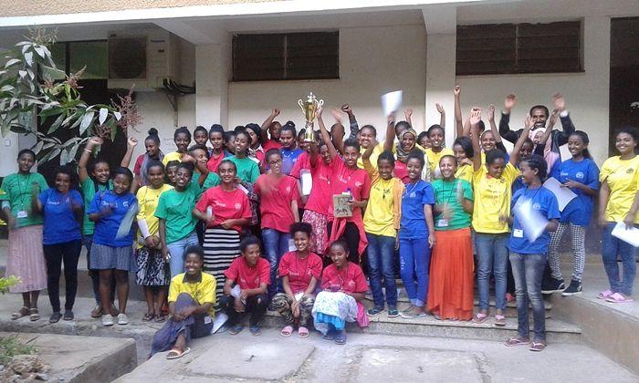 Bahir Dar University STEM Center students in Ethiopia