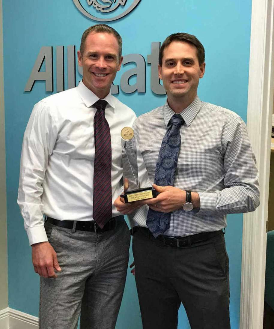 East and Greenwell win Allstate Agency Achievement Award for State of Florida