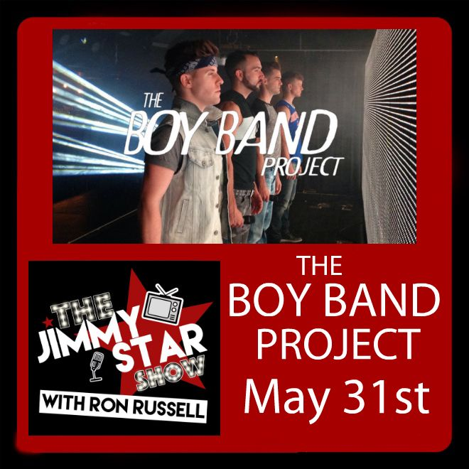 The Boy Band Project On The Jimmy Star Show With Ron Russell