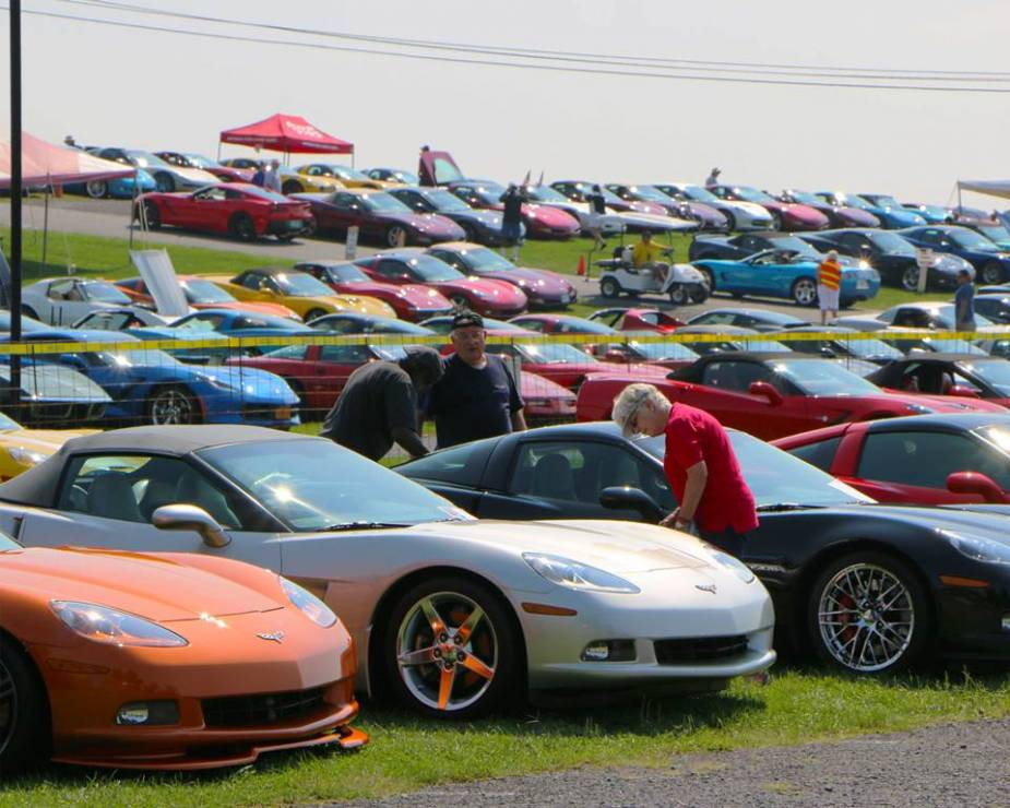 corvettes at carlisle returns in 2017 with special displays guests and decad. Cars Review. Best American Auto & Cars Review