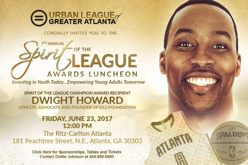 ULGA SOL Awards Dwight Howard Honoree 2017