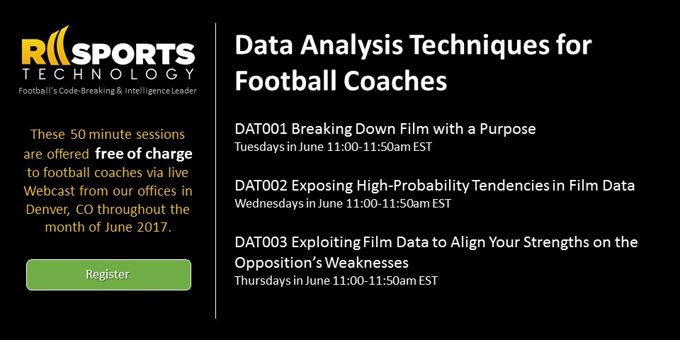 Data Analysis Techniques for Football Coaches by RII Sports Technology