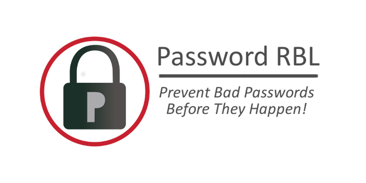 Prevent Bad Passwords with Password RBL