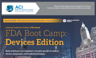 ACI's FDA Boot Camp – Devices Edition
