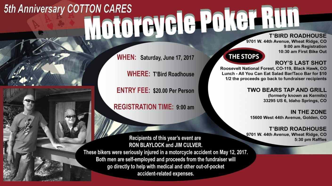 Cotton Cares Motorcycle Poker Run