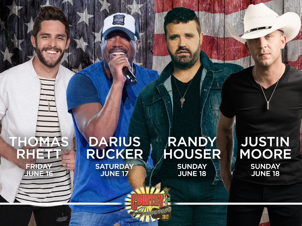 Country Summer Headliners
