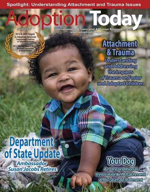 Cover of free June issue of Adoption Today