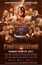 Impact Wrestling and AML Wrestling In Hickory, NC